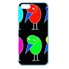Colorful birds Apple Seamless iPhone 5 Case (Color)