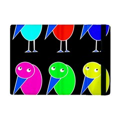 Colorful birds Apple iPad Mini Flip Case