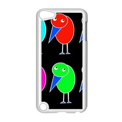 Colorful birds Apple iPod Touch 5 Case (White)