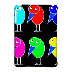 Colorful birds Apple iPad Mini Hardshell Case (Compatible with Smart Cover)