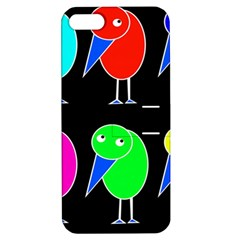 Colorful birds Apple iPhone 5 Hardshell Case with Stand