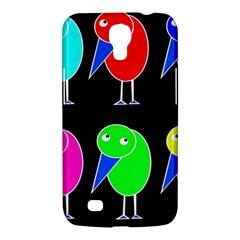 Colorful birds Samsung Galaxy Mega 6.3  I9200 Hardshell Case