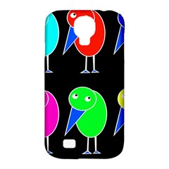 Colorful birds Samsung Galaxy S4 Classic Hardshell Case (PC+Silicone)