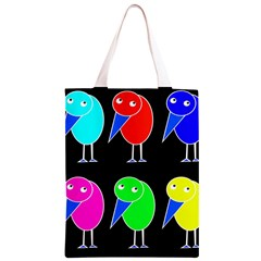 Colorful birds Classic Light Tote Bag