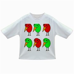 Green and red birds Infant/Toddler T-Shirts