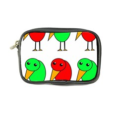 Green and red birds Coin Purse