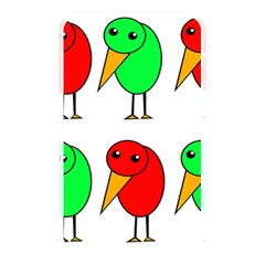 Green and red birds Memory Card Reader