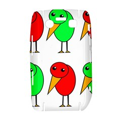Green and red birds Bold 9700