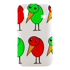 Green and red birds Samsung Galaxy Ace S5830 Hardshell Case