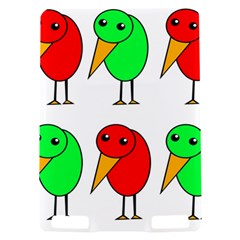 Green and red birds Kindle Touch 3G