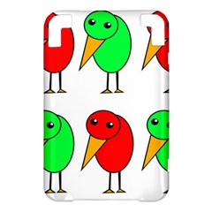 Green and red birds Kindle 3 Keyboard 3G