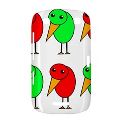 Green and red birds BlackBerry Curve 9380