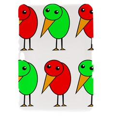 Green and red birds Samsung Galaxy Tab 8.9  P7300 Hardshell Case