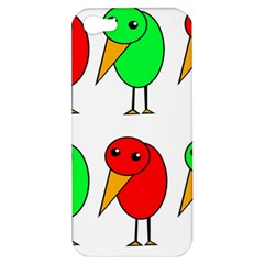 Green and red birds Apple iPhone 5 Hardshell Case