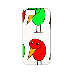 Green and red birds Apple iPhone 5 Classic Hardshell Case (PC+Silicone)