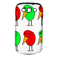 Green and red birds Samsung Galaxy S III Classic Hardshell Case (PC+Silicone)