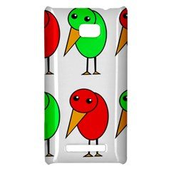 Green and red birds HTC 8X
