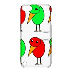 Green and red birds Apple iPod Touch 5 Hardshell Case with Stand
