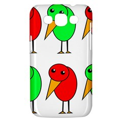 Green and red birds Samsung Galaxy Win I8550 Hardshell Case