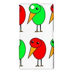 Green and red birds Sony Xperia Z Ultra