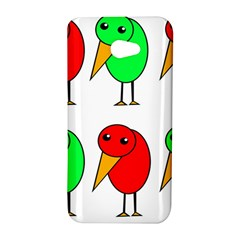 Green and red birds HTC Butterfly S/HTC 9060 Hardshell Case