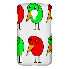 Green and red birds LG Optimus L7 II