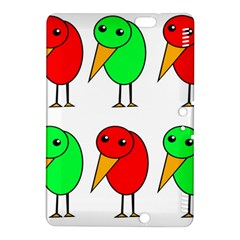 Green and red birds Kindle Fire HDX 8.9  Hardshell Case
