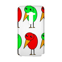 Green and red birds LG G Flex