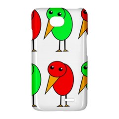 Green and red birds LG Optimus L70
