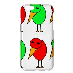 Green and red birds Apple iPhone 6 Plus/6S Plus Hardshell Case