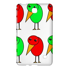 Green and red birds Samsung Galaxy Tab 4 (7 ) Hardshell Case