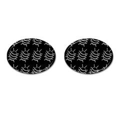 Bugs pattern Cufflinks (Oval)