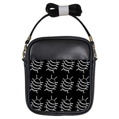 Bugs pattern Girls Sling Bags