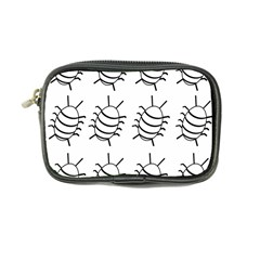 White bug pattern Coin Purse