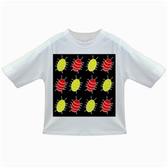 Red and yellow bugs pattern Infant/Toddler T-Shirts