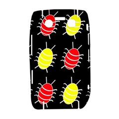 Red and yellow bugs pattern Bold 9700