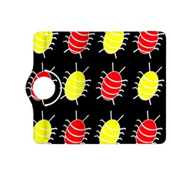 Red and yellow bugs pattern Kindle Fire HDX 8.9  Flip 360 Case