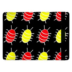 Red and yellow bugs pattern Samsung Galaxy Tab Pro 12.2  Flip Case