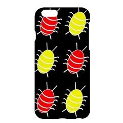 Red and yellow bugs pattern Apple iPhone 6 Plus/6S Plus Hardshell Case