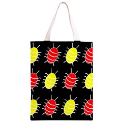 Red and yellow bugs pattern Classic Light Tote Bag