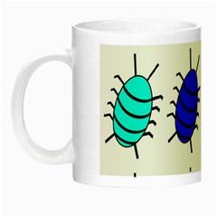 Blue Bugs Night Luminous Mugs