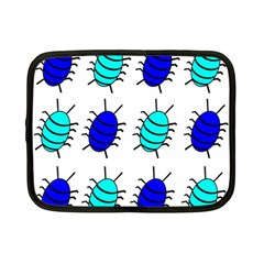 Blue bugs Netbook Case (Small)