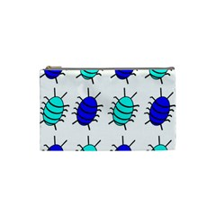 Blue bugs Cosmetic Bag (Small)