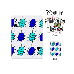 Blue bugs Playing Cards 54 (Mini)