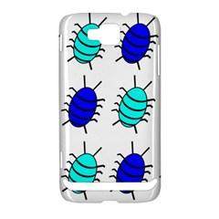 Blue bugs Samsung Ativ S i8750 Hardshell Case