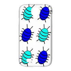 Blue bugs Samsung Galaxy S4 Classic Hardshell Case (PC+Silicone)