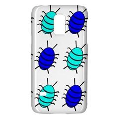 Blue bugs Galaxy S5 Mini