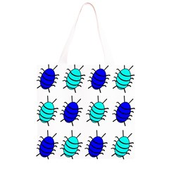 Blue bugs Grocery Light Tote Bag