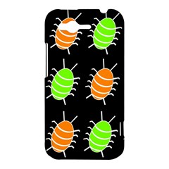 Green and orange bug pattern HTC Rhyme