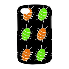 Green and orange bug pattern BlackBerry Q10